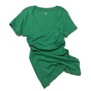 "5/$25!🌟 GAP ""Super Soft"" XS Short Sleeve Green T"